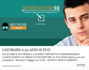 generazione 50 invito monopoli